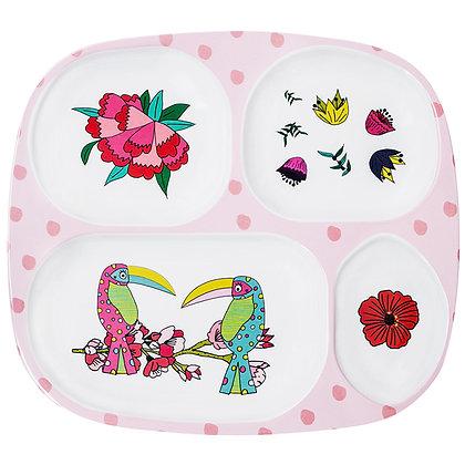 Kids Plate • Toucan Sisters