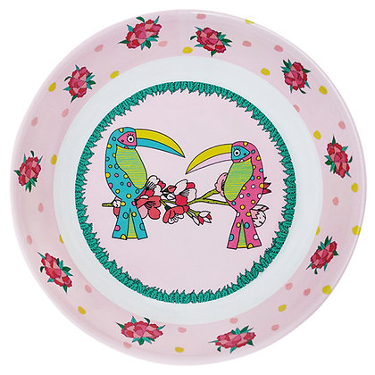 Deep Plate • Toucan Sisters