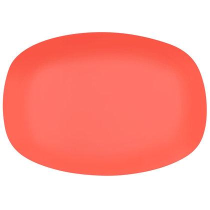 Ovalen bordje • Neon Orange