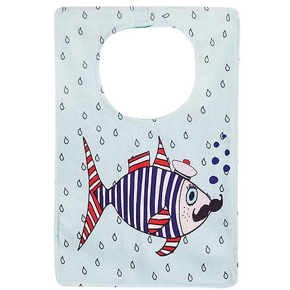 Babies Bib • Mr Fish