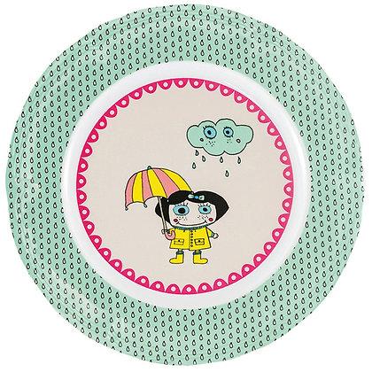 Round Plate • Jennifer