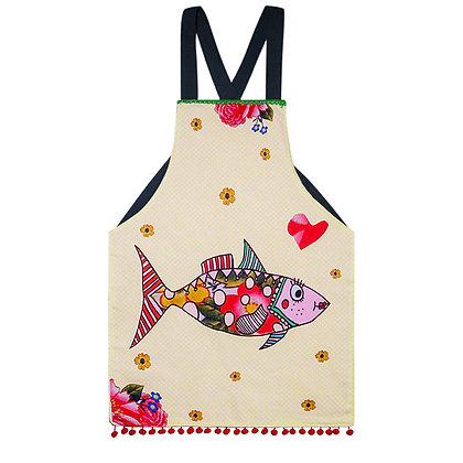 Kids Apron • Mrs Fish