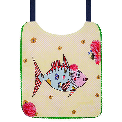 Kids Bib • Mrs Fish