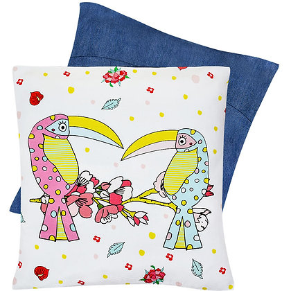 Cushion Cover • Toucan Sisters
