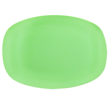 Oval Plate • Neon Green