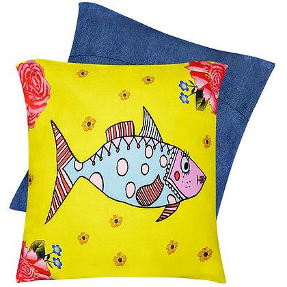 Cushion Cover • Mrs Fish