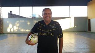 Sérgio Mineiro, é o mais novo treinador do Centro de Treinamento da AABB Cuiabá de futsal