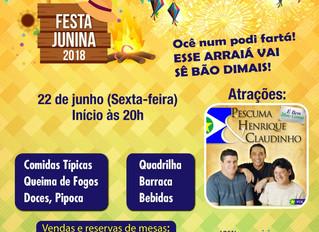 Festa junina 2018 - AABB Cuiabá