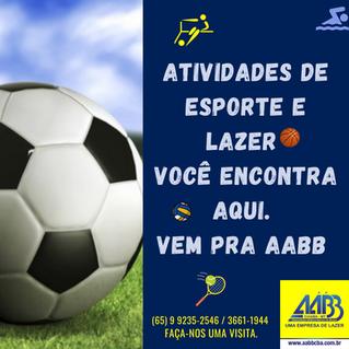 A maior rede de Clubes do Brasil -  Seja você também um associado da AABB Cuiabá