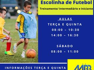 Escolinha de Iniciação Esportiva (Idade de 04 a 17 anos)