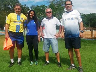 Projeto de formação de equipe feminina de futebol ganha adeptos na AABB Cuiabá