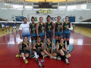 AABB Cuiabá é campeã da Copa Cuiabá 2018 do vôlei feminino