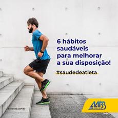 Saúde de atleta: Veja 6 hábitos saudáveis para melhorar a sua disposição!