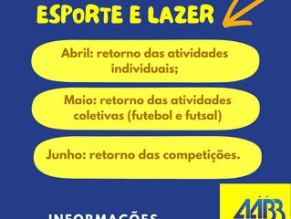 Confira a programação de retorno das competições AABB Cuiabá