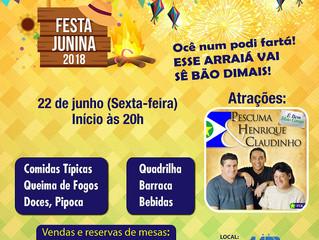 Confira a programação e atrações da Festa Junina da AABB Cuiabá