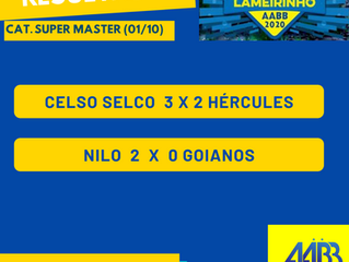 Campeonato Lameirinho está de volta! Confira os resultados abaixo e os confrontos das SEMIFINAIS