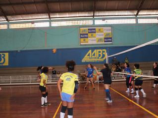 Amistoso de confraternização do voleibol feminino