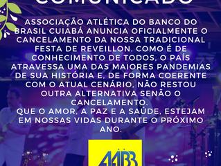 AABB Informa: O Cancelamento da tradicional festa de Reveillon 2020