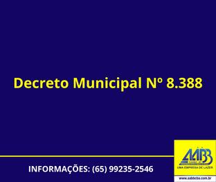 AABB Cuiabá parcialmente aberta a partir do dia 10 de Abril para todos associados