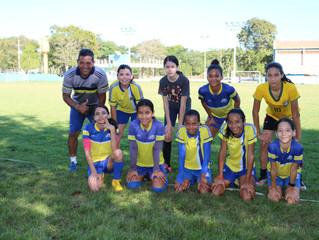 Futebol feminino já é uma das modalidades esportivas mais badaladas da escolinha da AABB Cuiabá