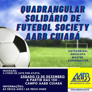 Quadrangular Solidário de Futebol Society 2020