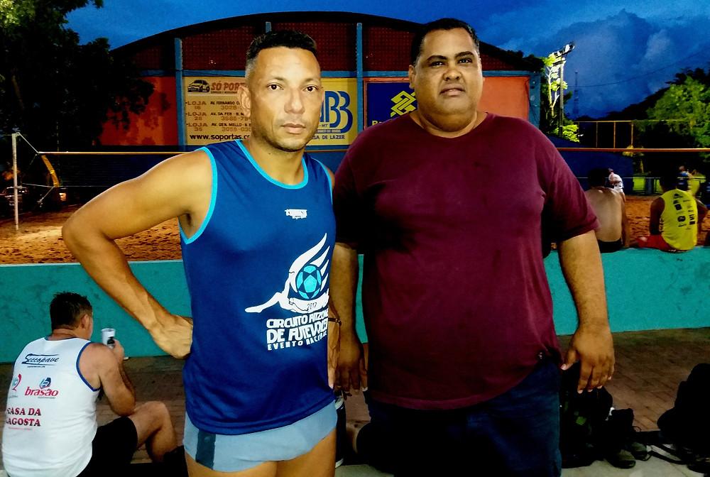 Careca e Léo convidam o público a prestigiar o torneio