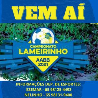Campeonato '' ZIZZA Lameirinho 2021''