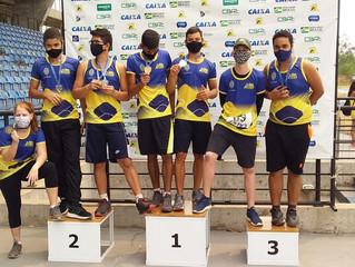 A Escolinha de Atletismo da AABB Cuiabá participou no ultimo final de semana do campeonato Estadual