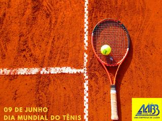 Dia Mundial do Tênis - Parabéns a todos os Tenistas!