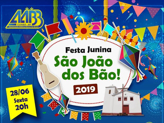 Nossa Festa Junina com a Banda Terra e Flor Ribeirinha está se aproximando! Veja os preços de mesas