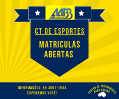 CT DE ESPORTES AABB CUIABÁ - 2021
