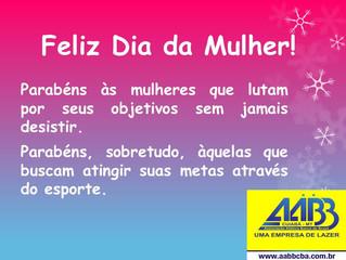 AABB Cuiabá parabeniza as mulheres