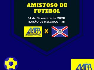 Sábado 14/11 é dia de Amistoso de Futebol