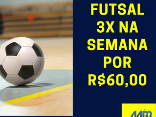 Março - Futsal com Mensalidade Promocional