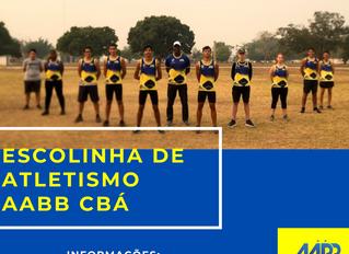 Escolinha de Atletismo AABB CBÁ