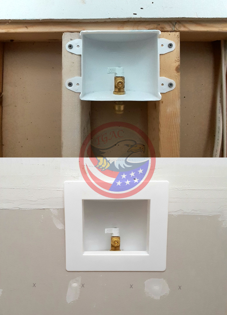 Refrigerator Water Line Install