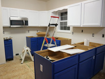 Cabinet Repaint