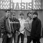 Oasis, Noel and Liam Gallagher with the