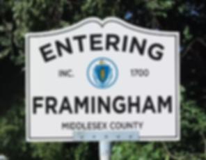 Framingham sign.png
