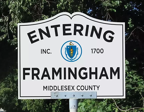 Framingham sign.png