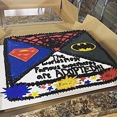 Full sheet cake (12x18)
