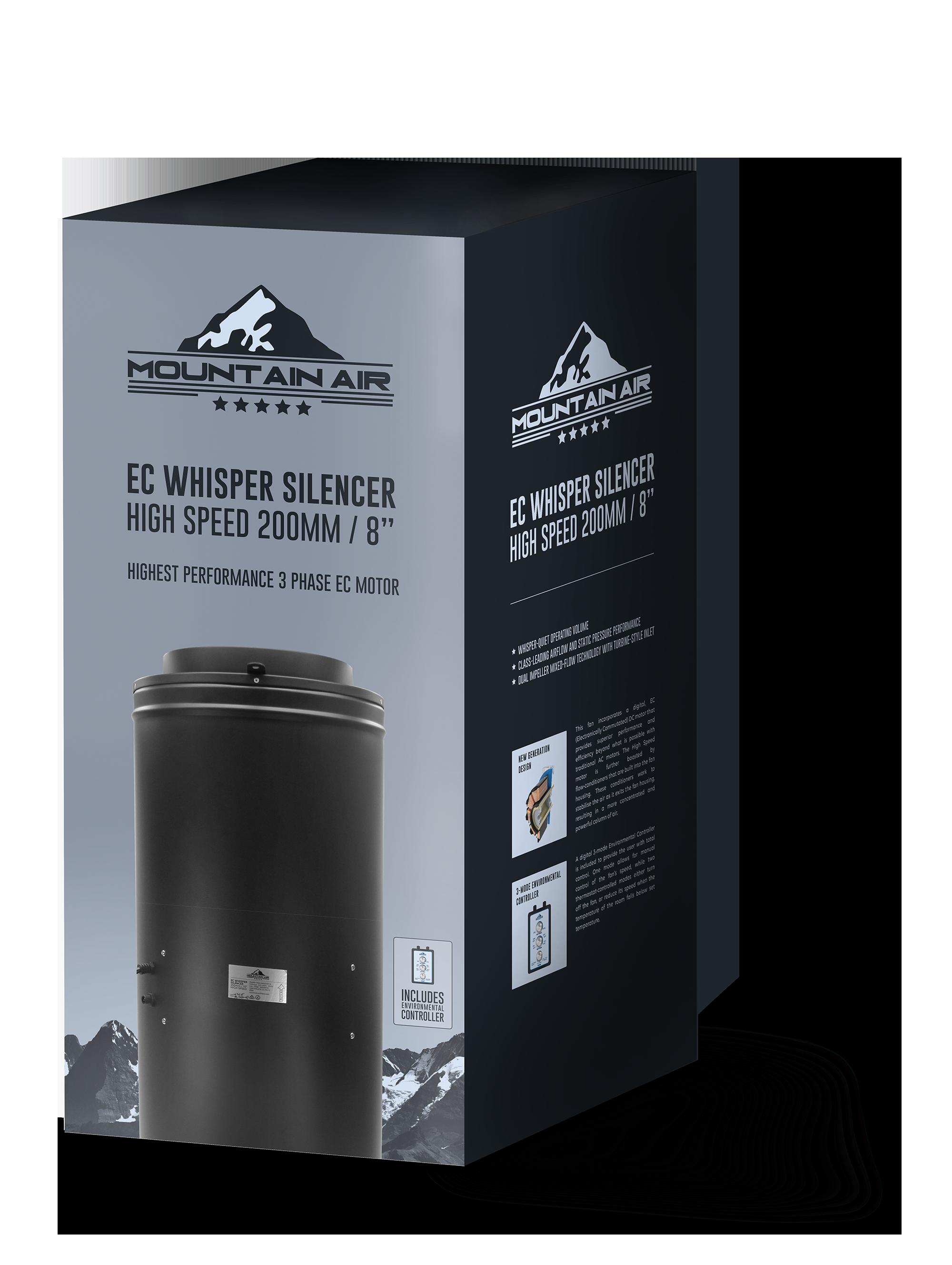 Mountain Air EC Whisper Silencer