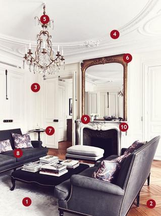 Как оформить гостиную во французском стиле: 10 подсказок профессионала