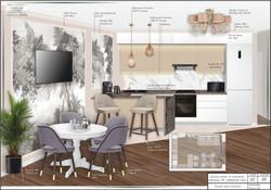 КОЛЛАЖ кухня-столовая 2 №136
