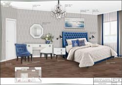 КОЛЛАЖ спальня 1 №136
