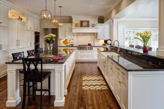 Кухня в американском стиле: наличие пространства.