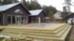 byggföretag, snickare, norrköping, Brandtätning av mellanväggar i rad/kedjehus