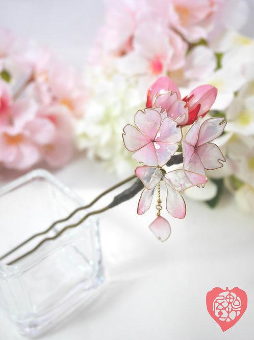 桜のかんざし 「花心」