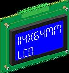 Endikal_114_x_64_Grafik_LCD_Komple_Modül