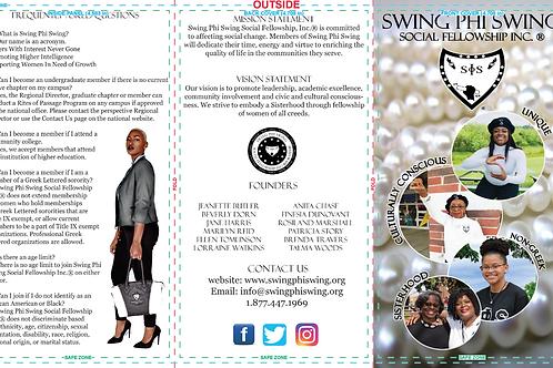 Swing Brochures (25/Pk)